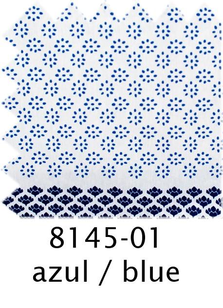 8145 Prints - 01 azul