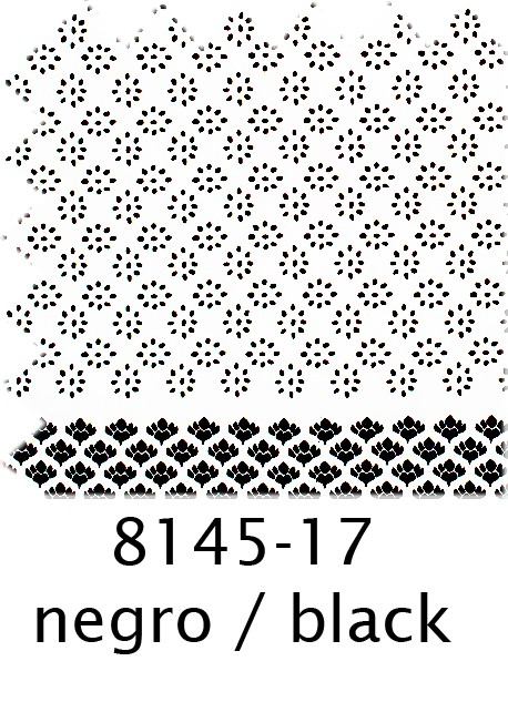 8145 Prints - 17 Negro
