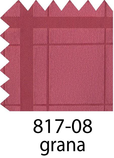 817 Jacquar Cuadros Rojo